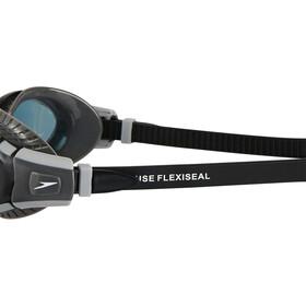 speedo Futura Biofuse Flexiseal Svømmebriller grå/sort